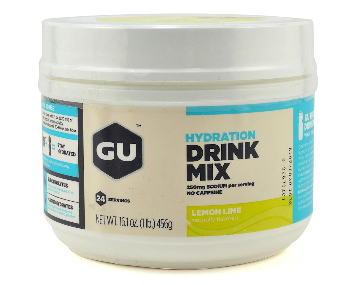 GU Electrolyte Brew (Lemon Lime) (24 Serving Canister)