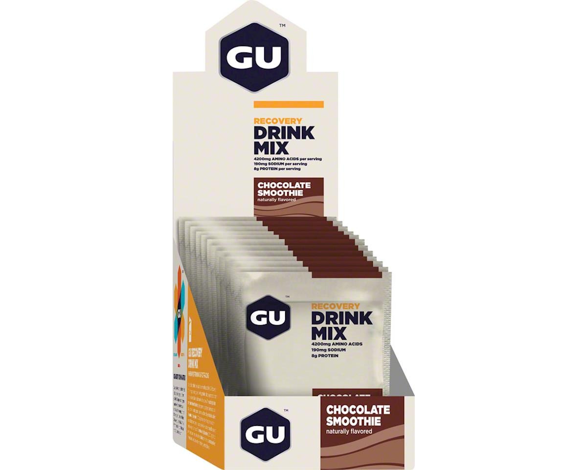 Recovery Drink Mix: Chocolate Smoothie, 12 Pack