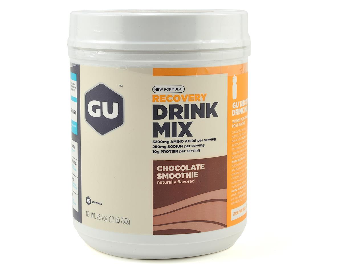 GU Recovery Brew (Chocolate) (14 Serving Canister)