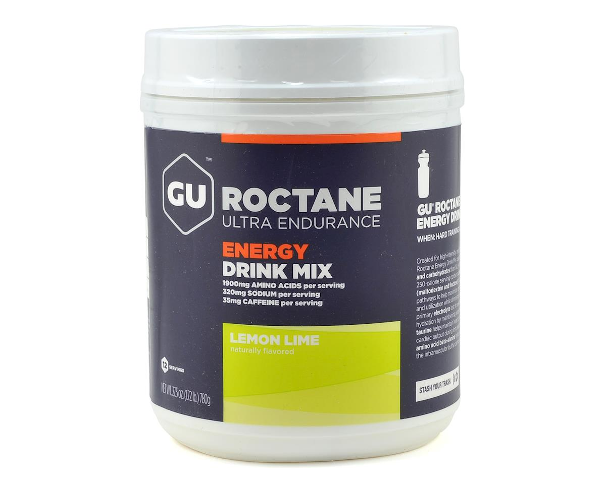 GU Roctane Energy Drink Mix (Lemon Lime) (12 Serving Canister)