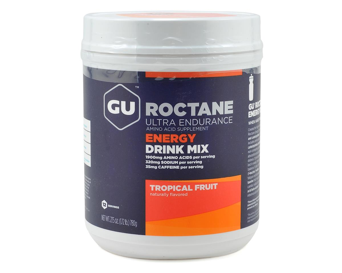 GU Roctane Energy Drink Mix (Tropical Fruit) (12 Serving Canister)