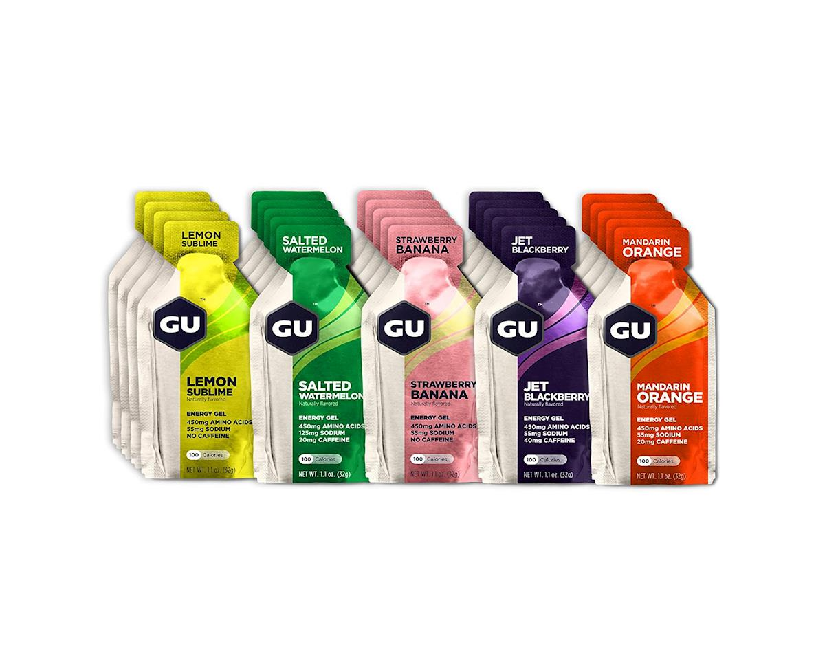 Image 1 for GU Energy Gel Fruity Flavors Assortment - 24 Pack