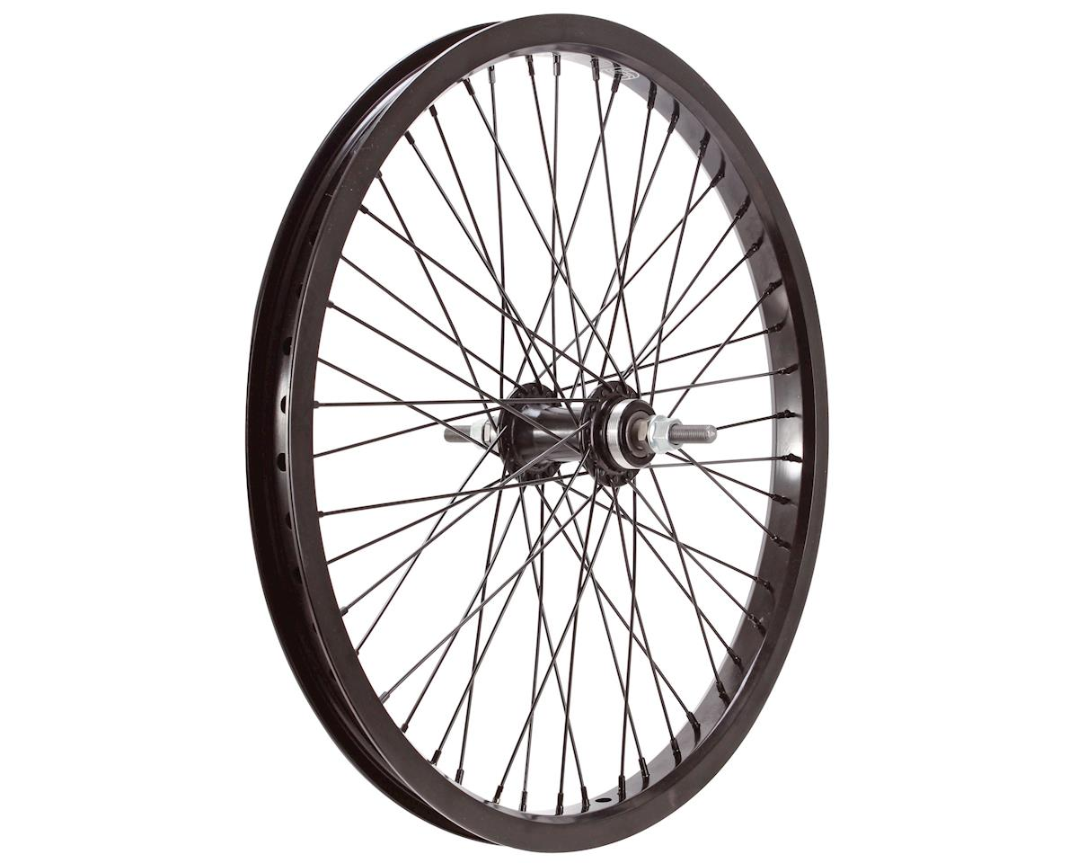 "Gusset Black Dog Rear Wheel (3/8"") (48H) (20"")"