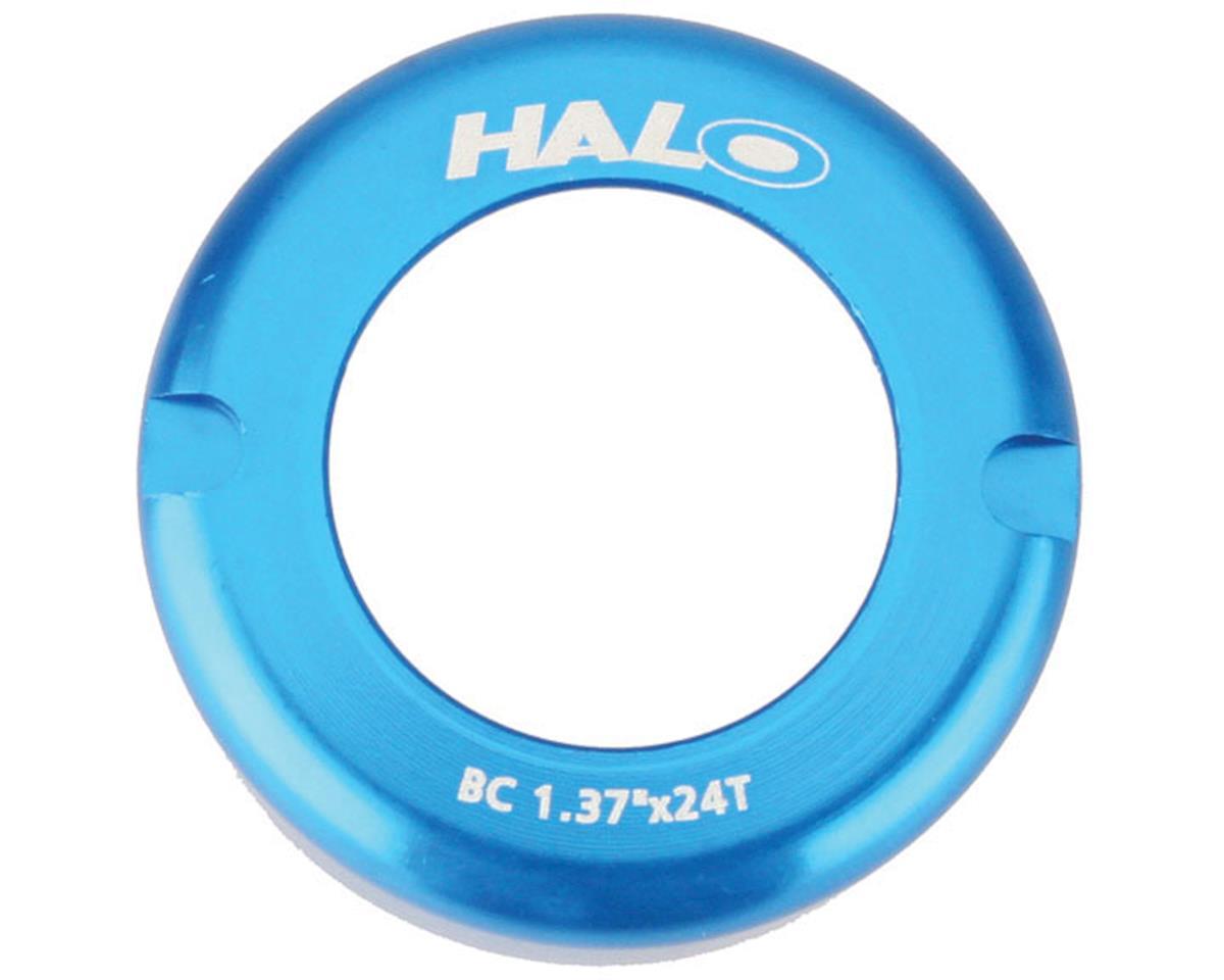 Fix-T alloy thread cover cap, blue