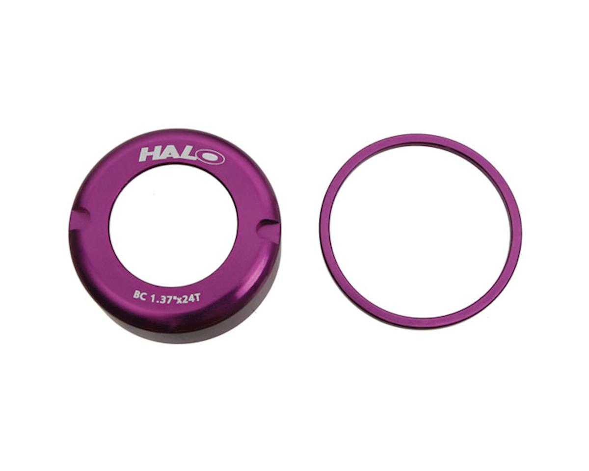 Halo Fix-T alloy thread cover cap, purple