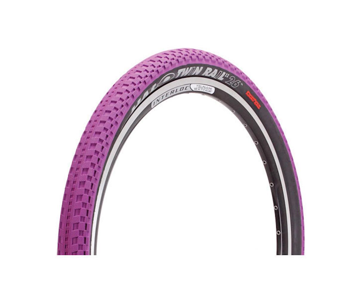"Halo Twin Rail W tire, 26 x 2.2"" - purple"
