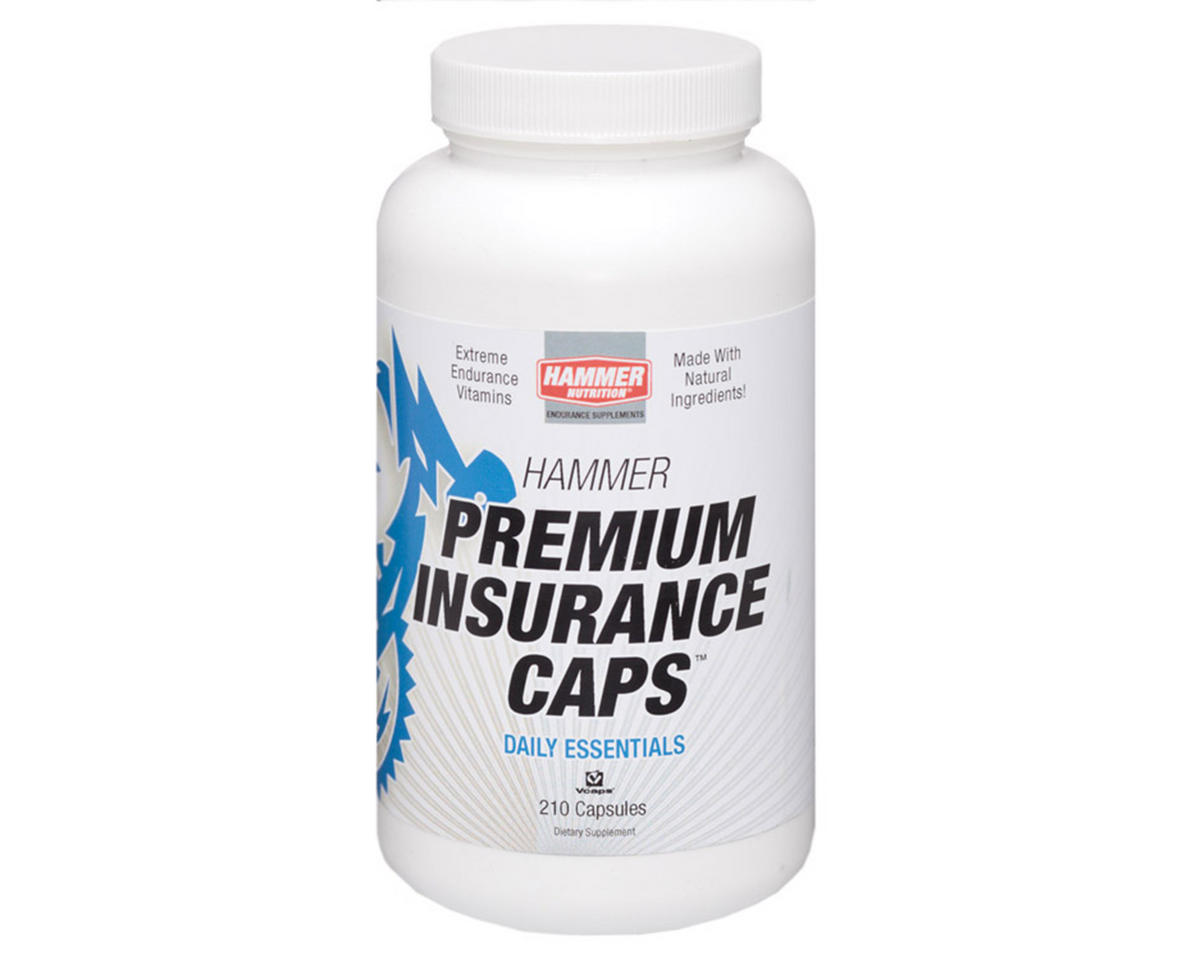 Hammer Nutrition Premium Insurance Caps Bottle (210)