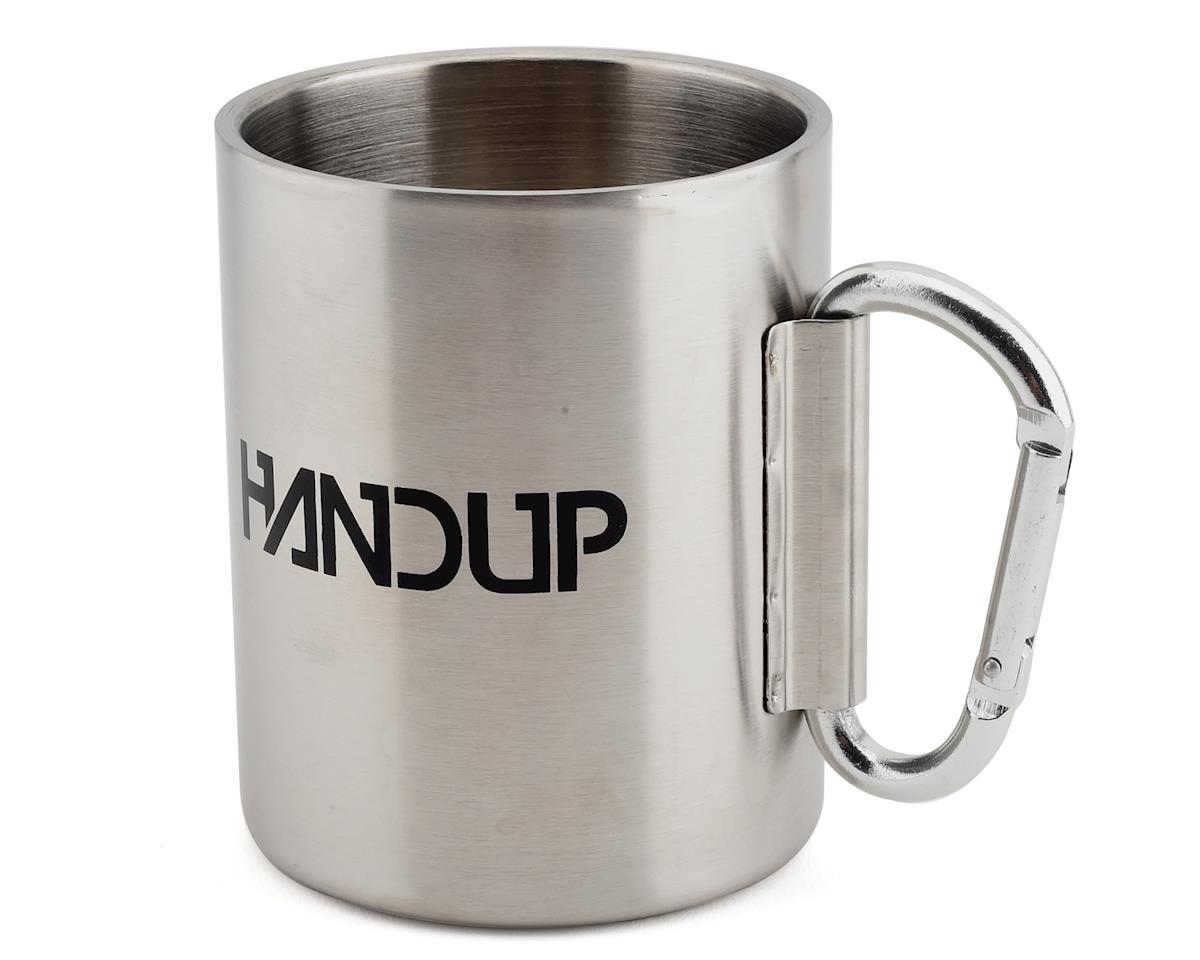 Handup Titanium Dangle Mug (Made of 100% Stainless Steel) (14oz)