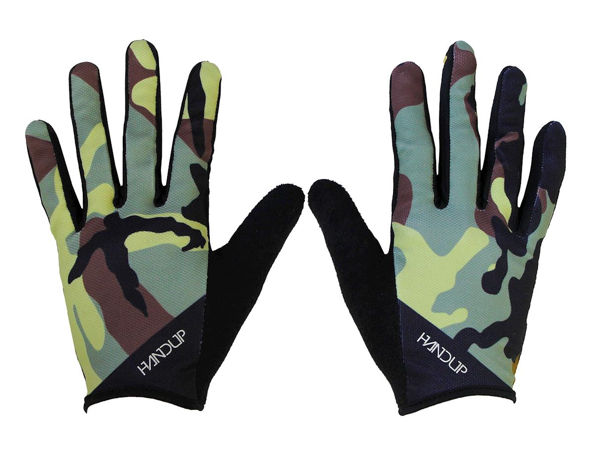 Wide Open Gloves (Trad Camo - Olive/Green/Tan)