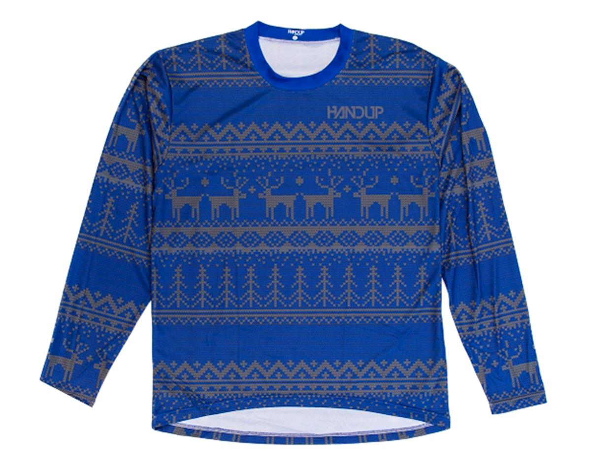 Handup Tacky Sweater Technical Trail Jersey (Blue) (M)