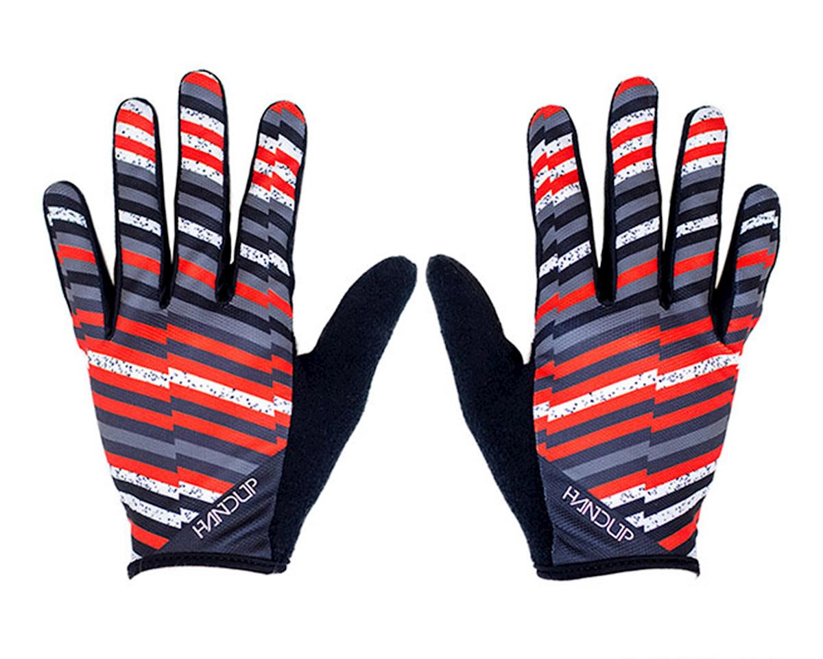 Handup The Analog - Huck It Gloves (Black/Orange/White/Grey) (XL)