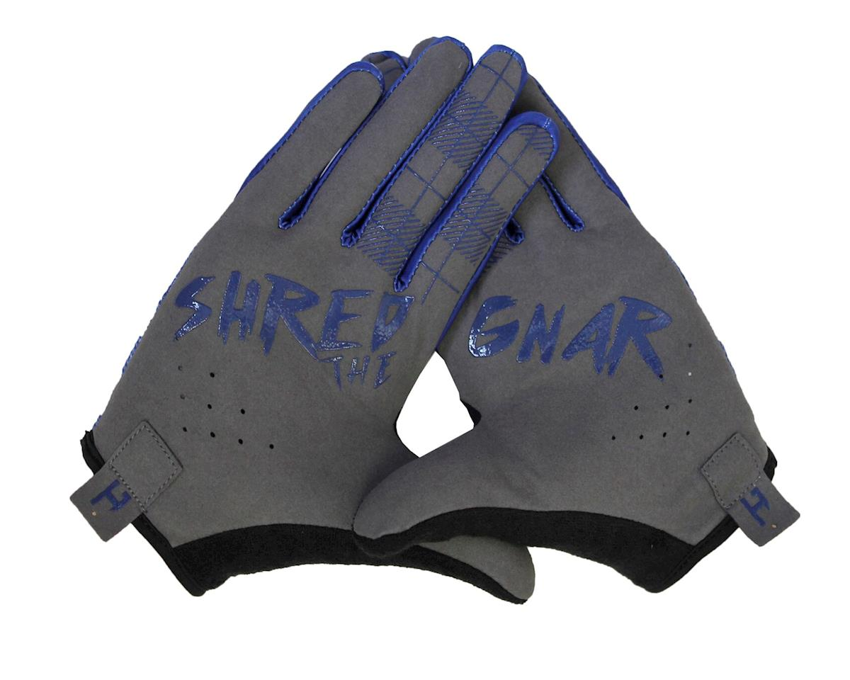 Handup Shred the Gnar Gloves (Lumberjack Flannel - Navy/Grey) (M)