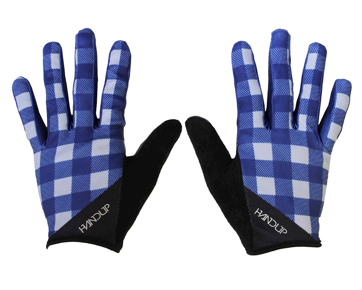 Shred the Gnar Gloves (Lumberjack Flannel - Navy/Grey)