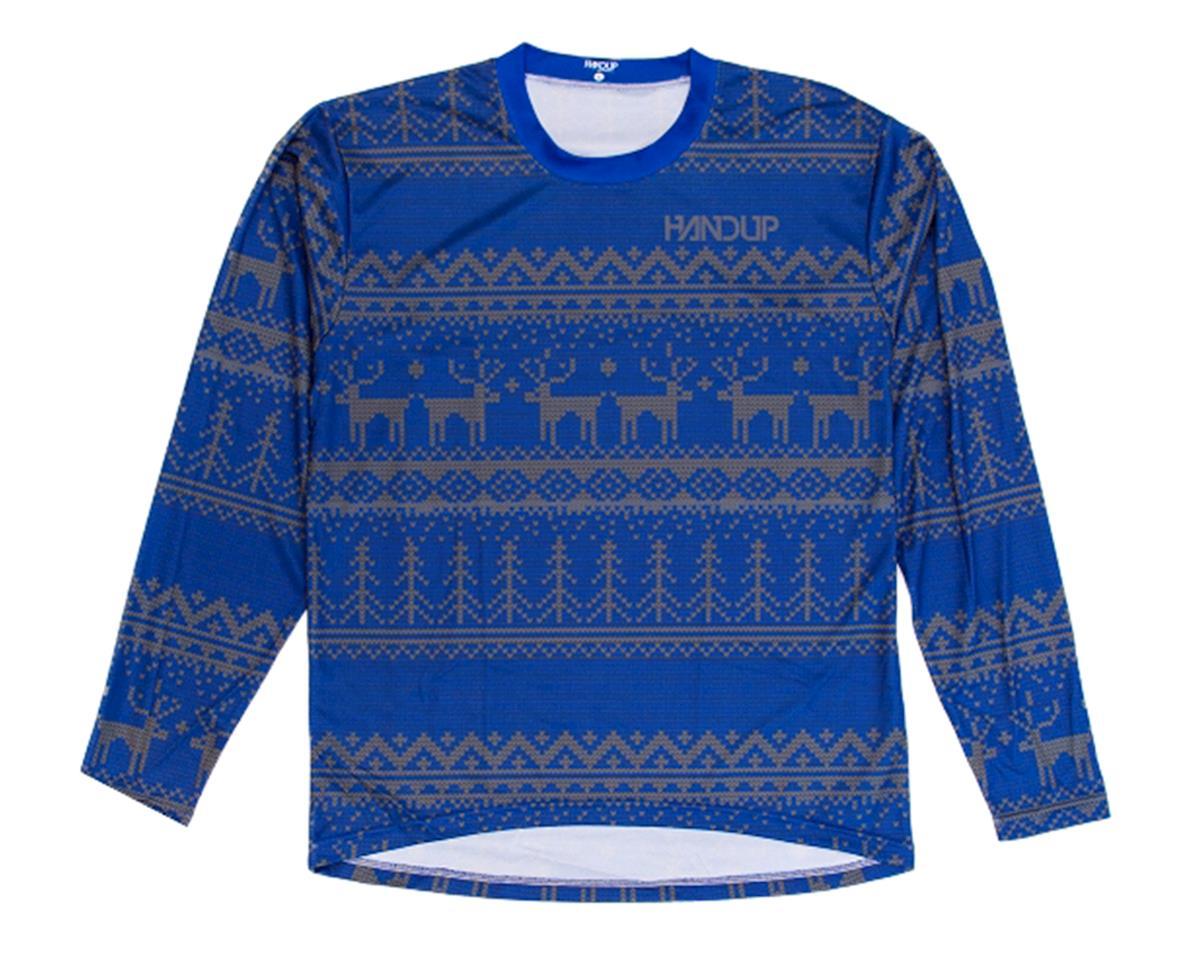 Handup Tacky Sweater Technical Trail Jersey (Blue) (L)