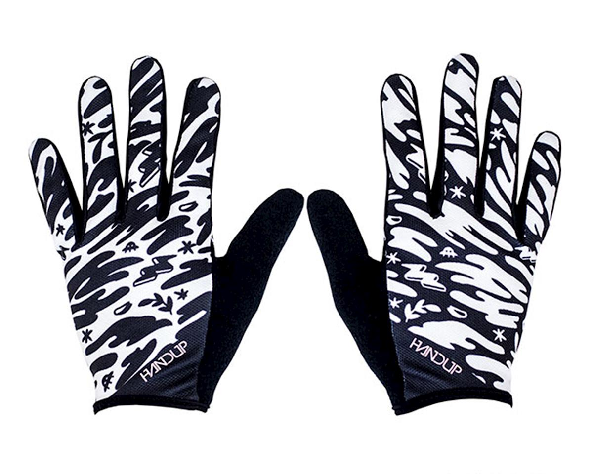 Handup 5th Period Art Class - Grip It & Rip It Gloves (Black/White) (XS)