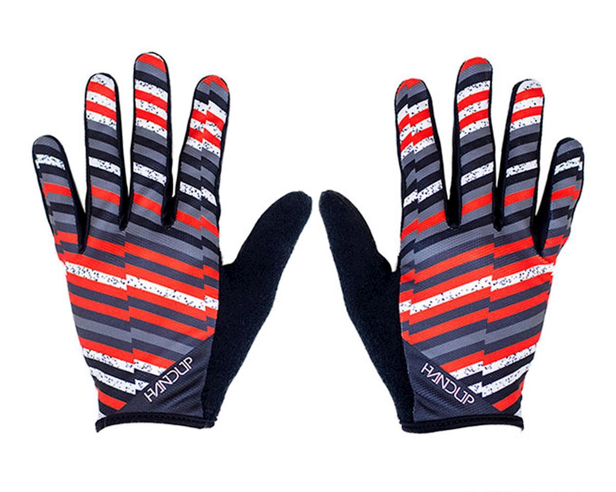 Handup The Analog - Huck It Gloves (Black/Orange/White/Grey) (2XS)