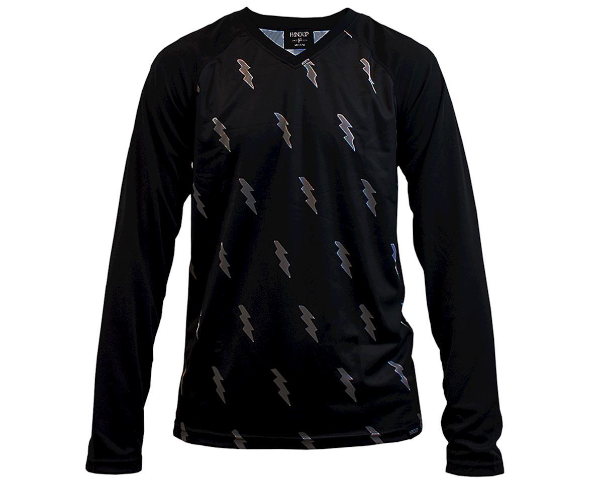 Handup Long Sleeve Jersey (Blackout Bolts) (XL)