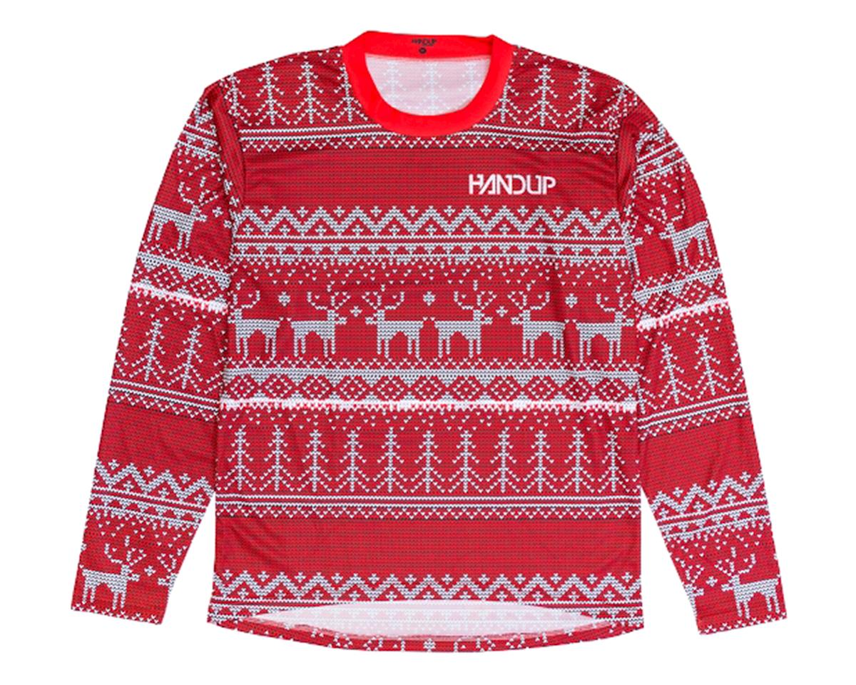Handup Tacky Sweater Technical Trail Jersey (Red) (XL)