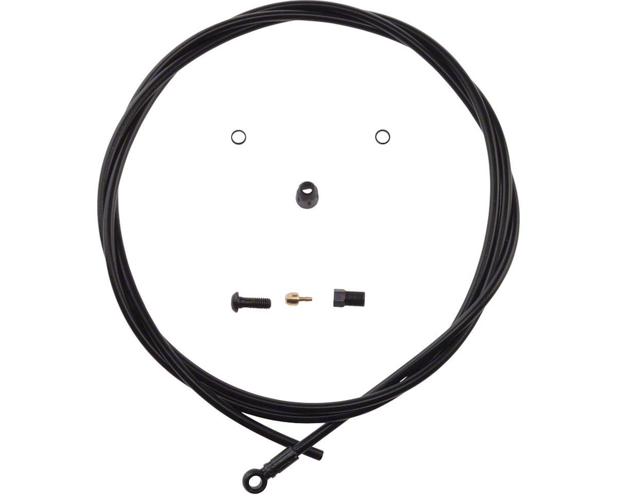 Hose Kit Trail/Carbon/Gram 190cm Black Rear