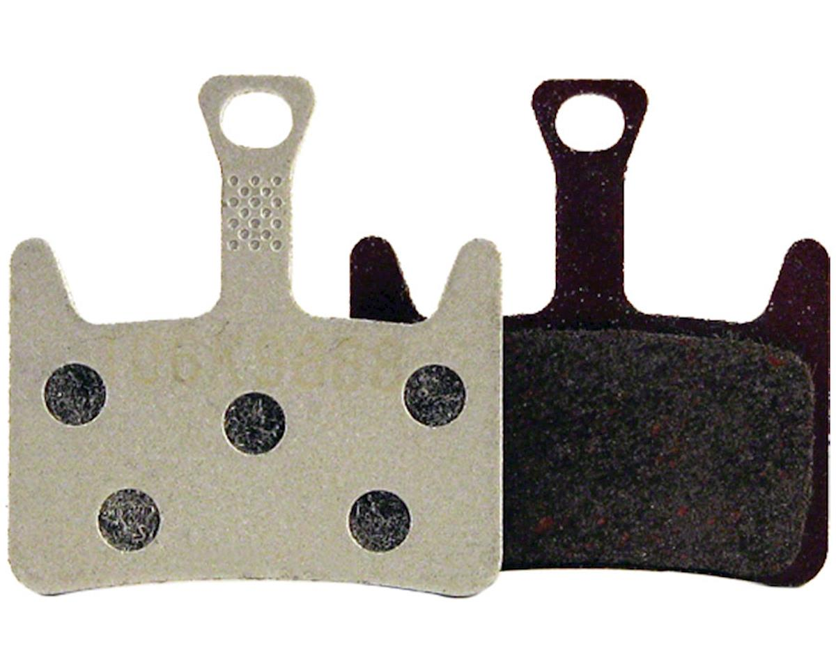 Prime Disc Brake Pads Semi-Metallic Aluminum Back Plate
