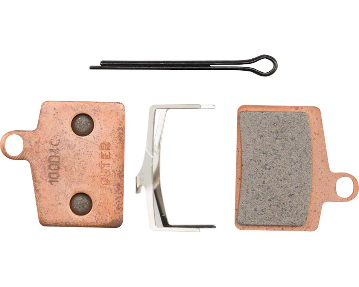 Hayes Disc Brake Pads Sintered Steel Back for Dyno, Stroker Ryde, Radar, Prime S