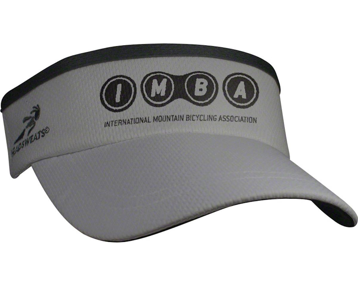 Gray Headsweats IMBA Supervisor Sublimated Visor