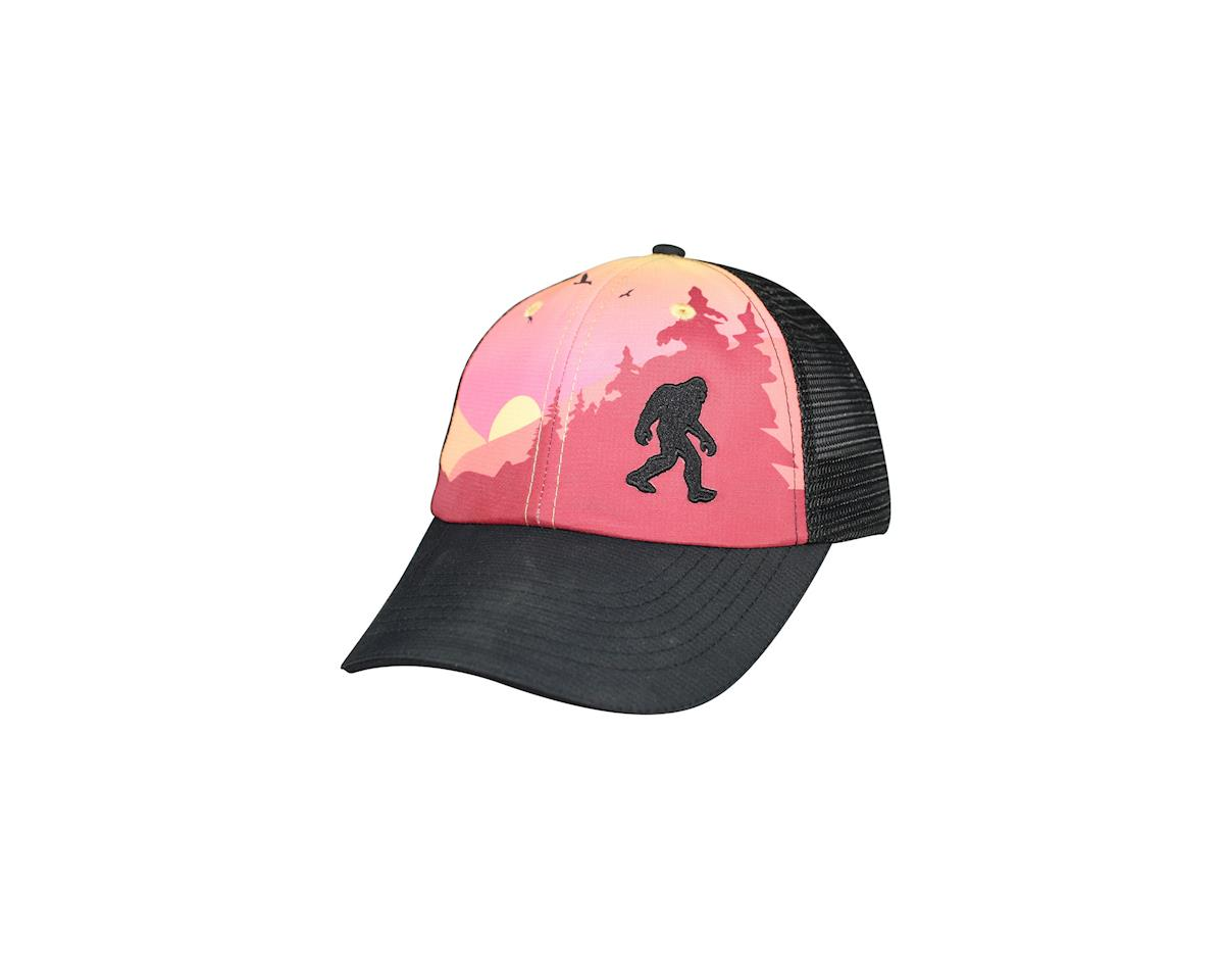 Headsweats Sasquatch 5-Panel Hat (Black/Pink)