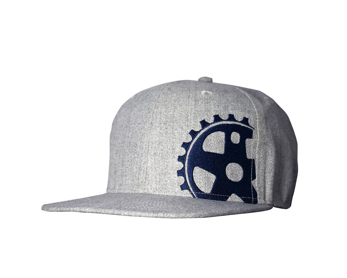 Headsweats Grey Wool Blue Crank 5-Panel hat, grey