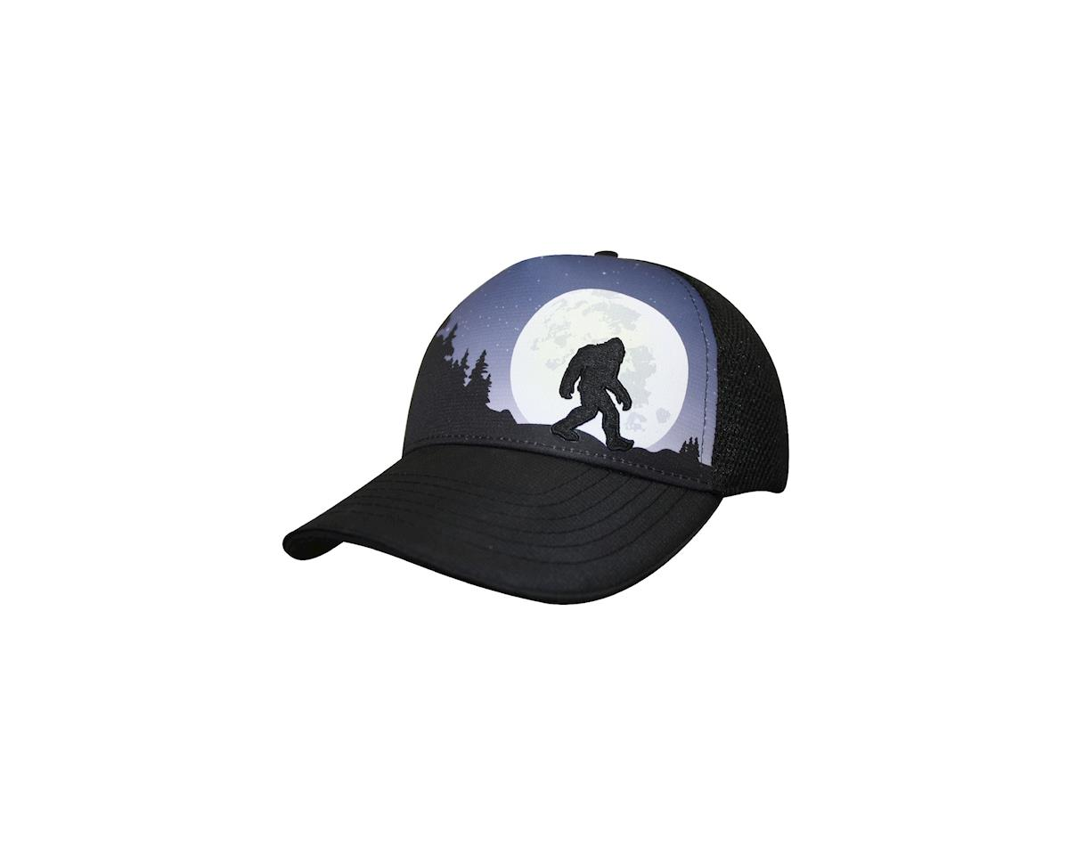 Headsweats Bigfoot Moon Rising 5-Panel Hat (Black) | relatedproducts