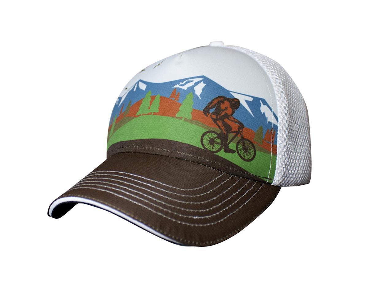 Headsweats Bigfoot Bike Mountain 5-Panel hat, white
