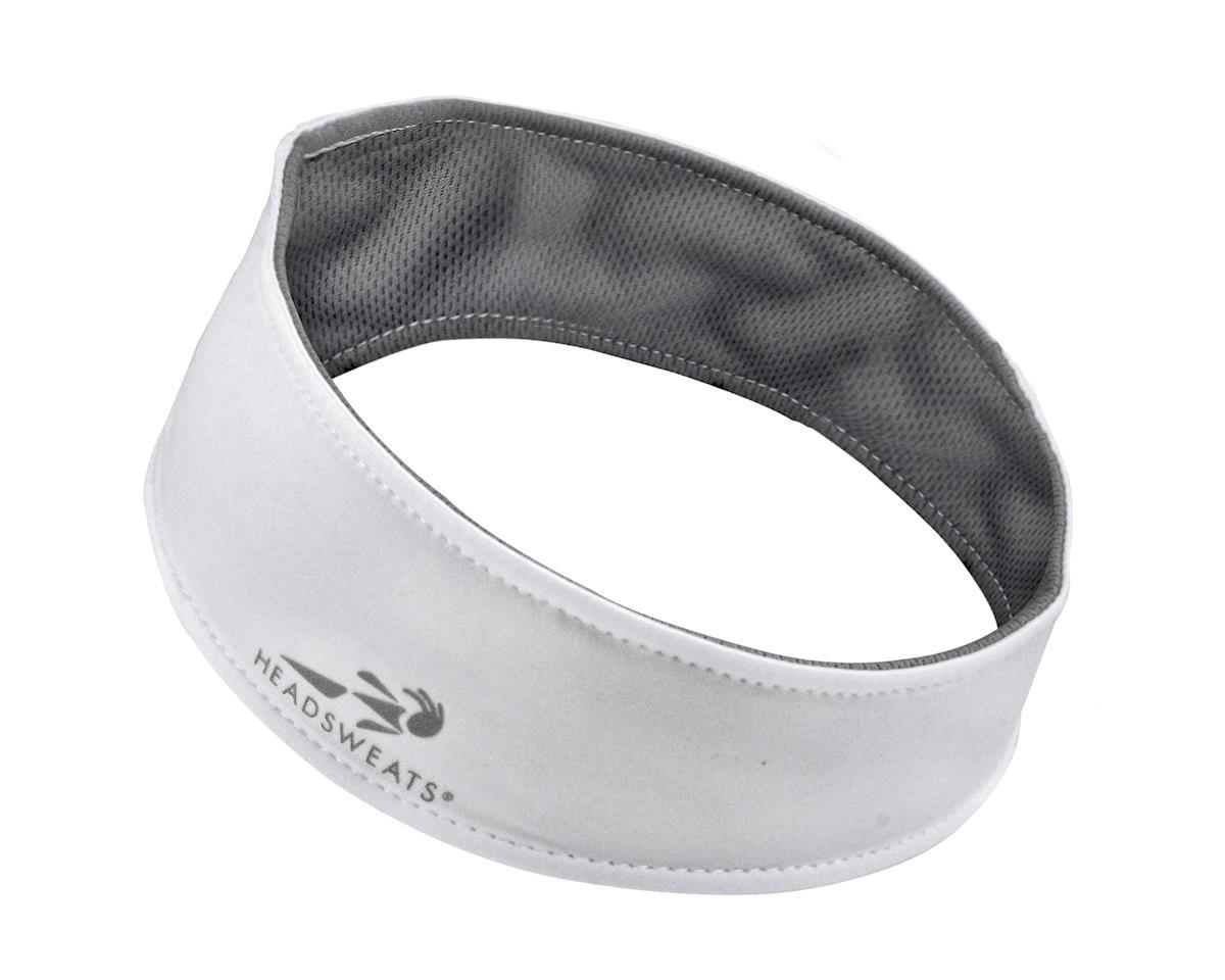 Headsweats UltraTech Headband (White/Silver) (One Size)