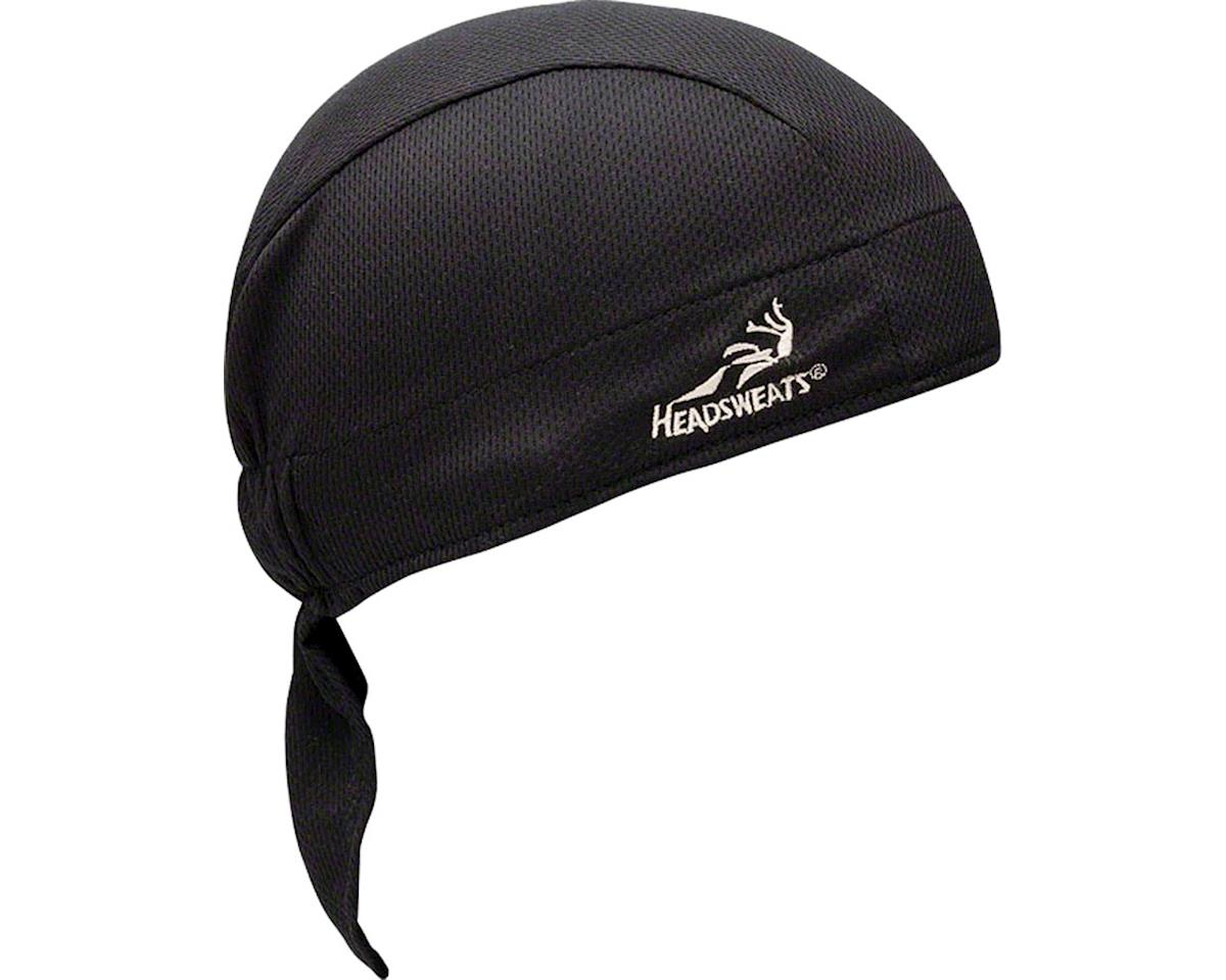 Headsweats Super Duty Shorty Headband (Black) (One Size)