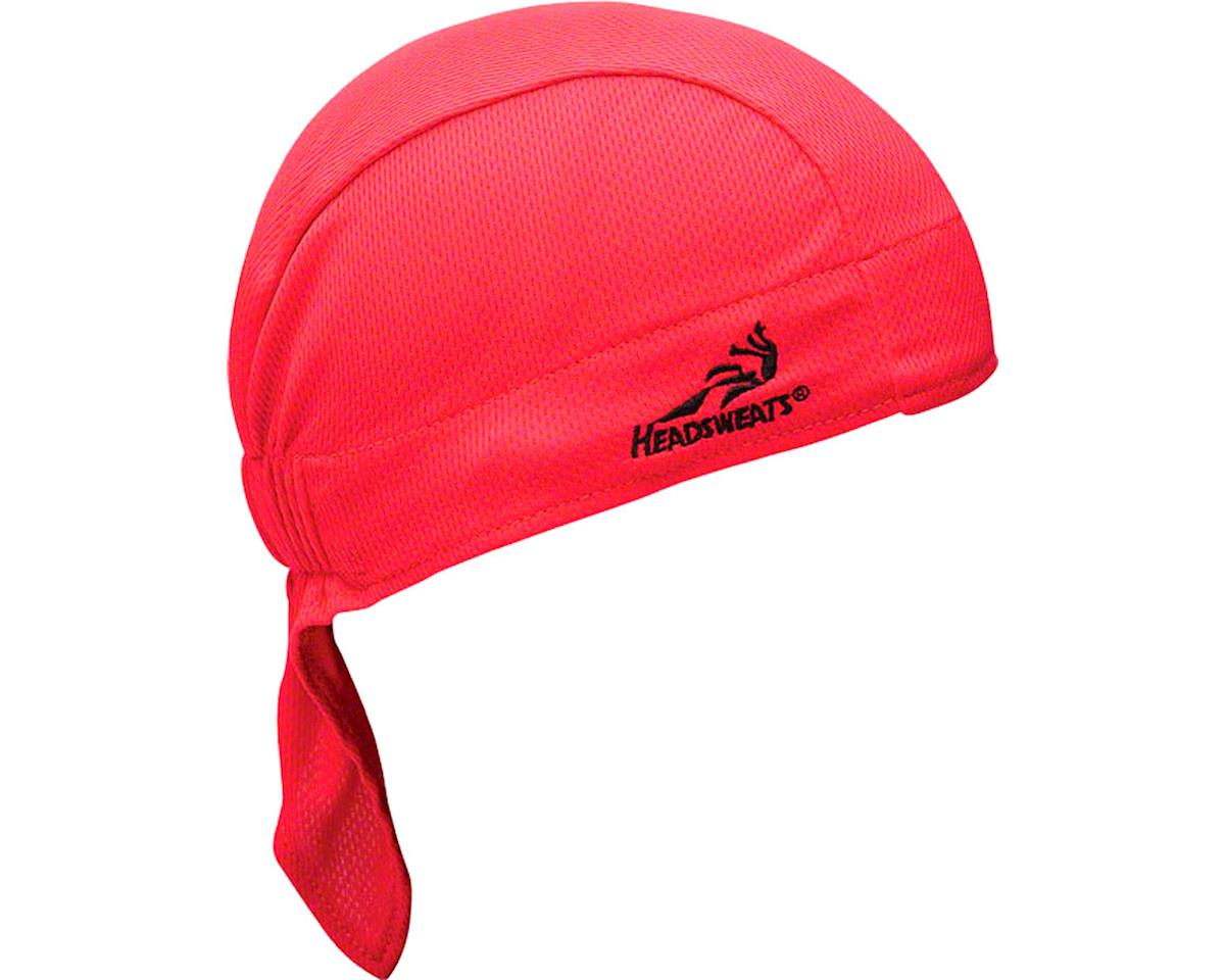 Headsweats Super Duty Shorty Headband (Red) (One Size)