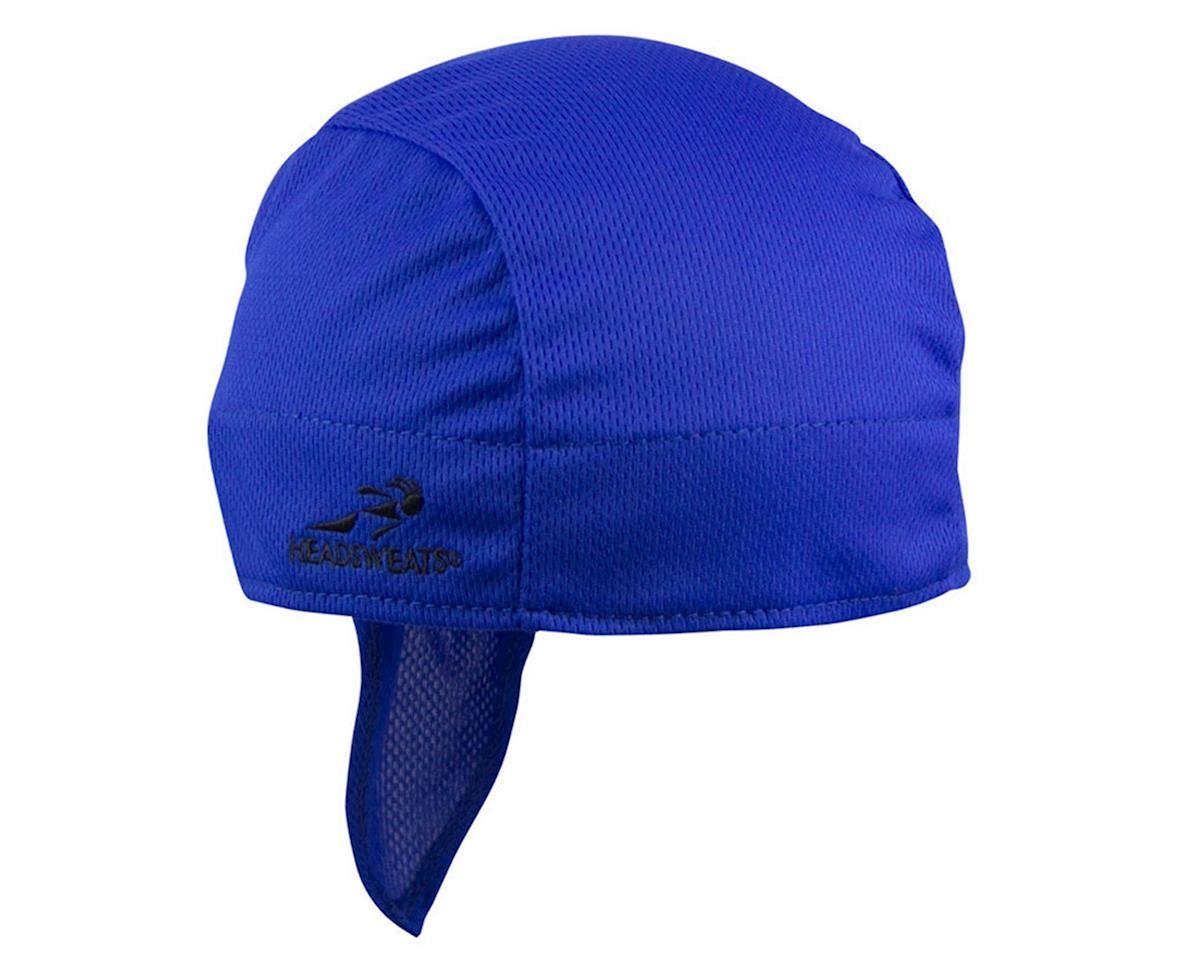 Headsweats Super Duper Shorty Headband (Blue) (One Size)