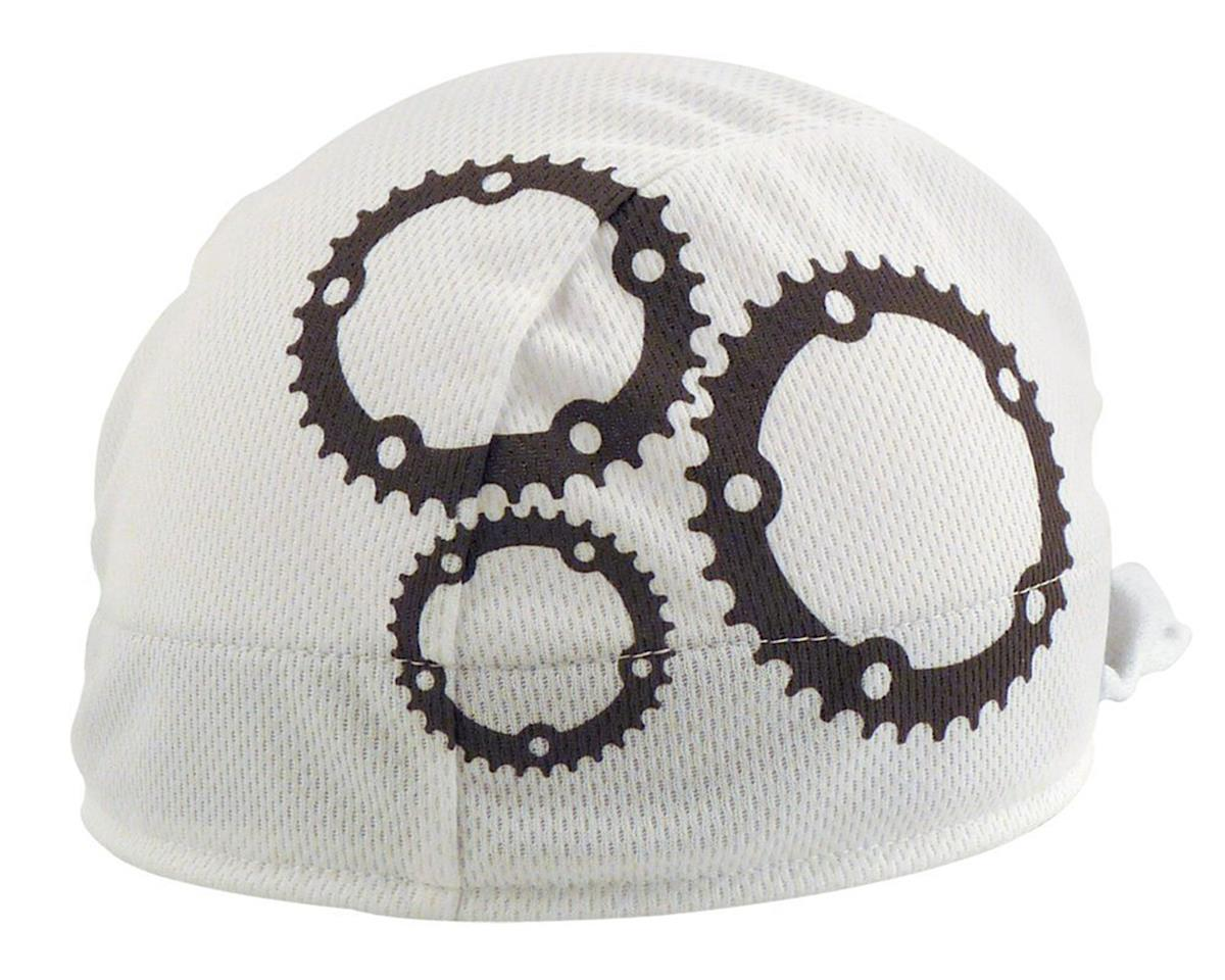 Headsweats Coolmax Gears Shorty Skullcap (White/Grey)