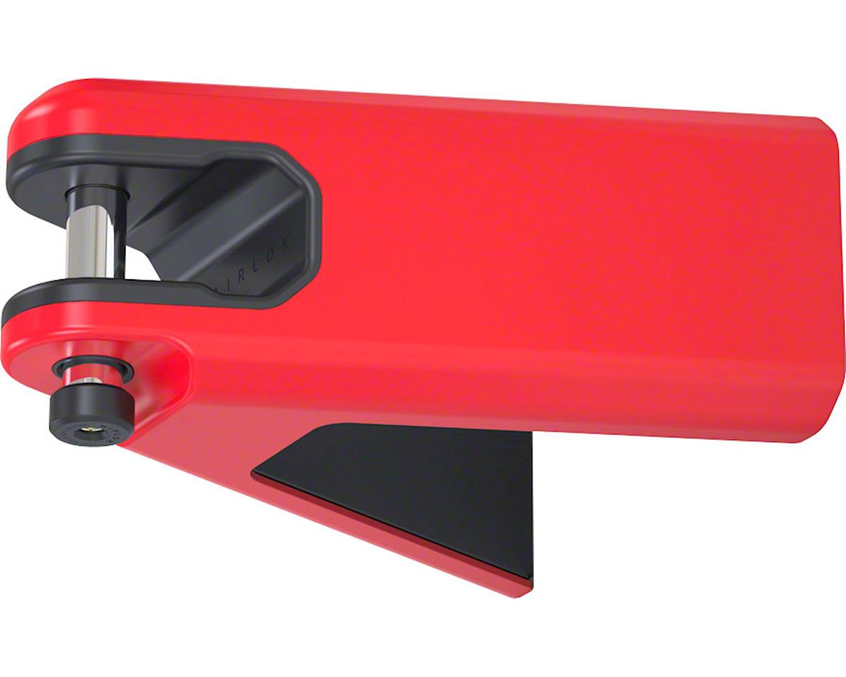 Hiplok Airlok Secured Wall Mount Frame Lock: Red