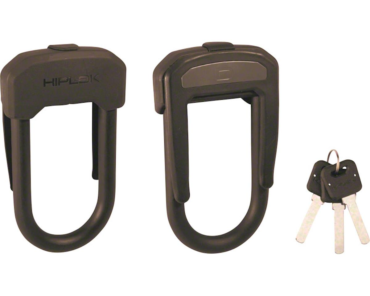 Hiplok D Wearable Hardened Steel Shackle U-Lock (Black) (13mm)