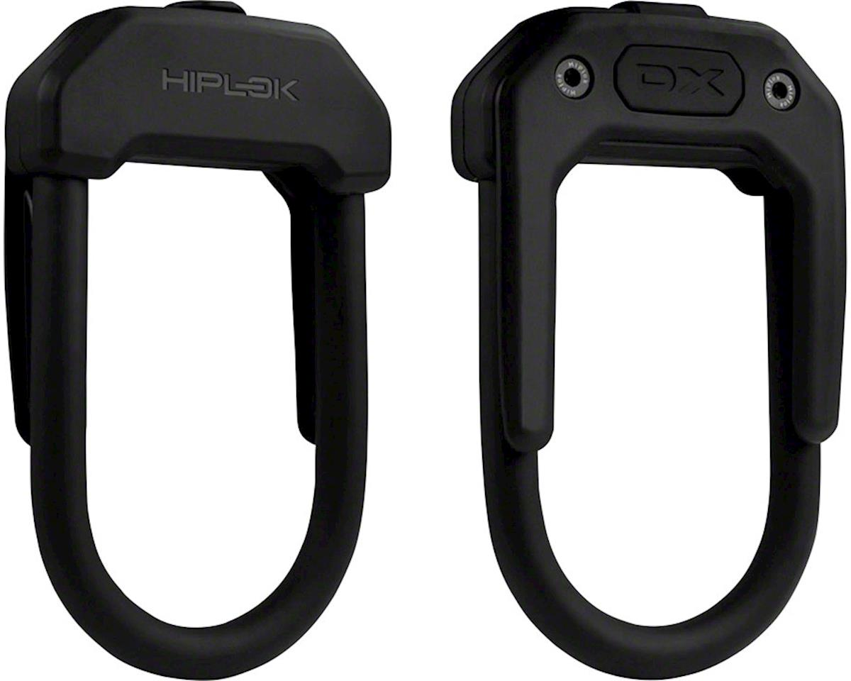 Hiplok DX Wearable Hardened Steel Shackle U-Lock: 14mm, Black