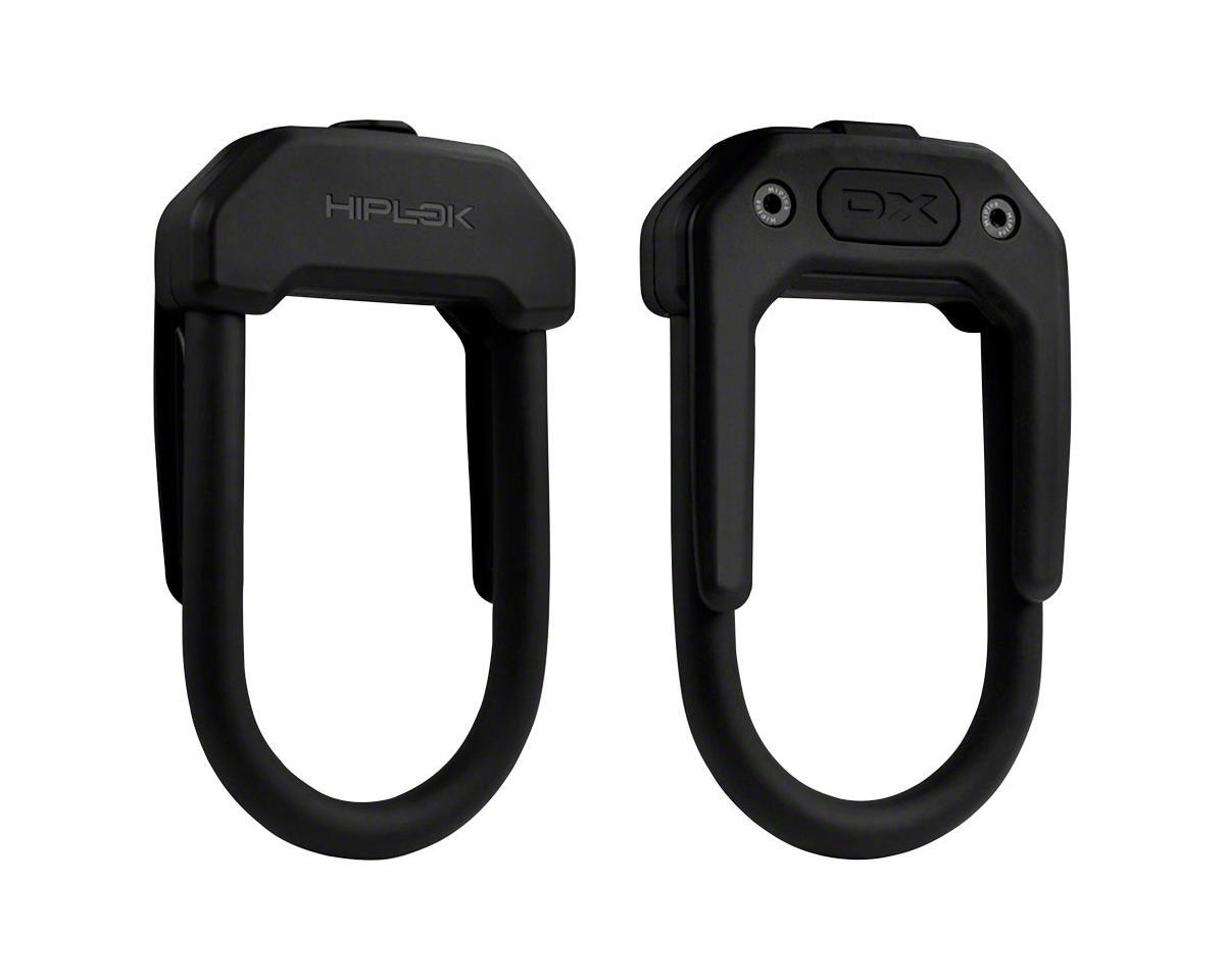 Hiplok DX Wearable Hardened Steel Shackle U-Lock: 14mm, Black