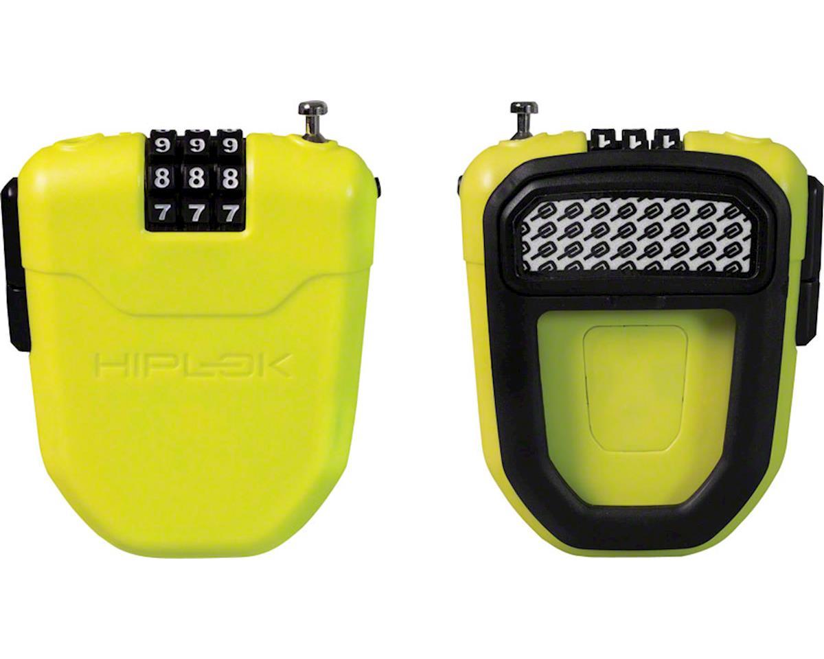 Hiplok FX Wearable Cable Lock: Lime