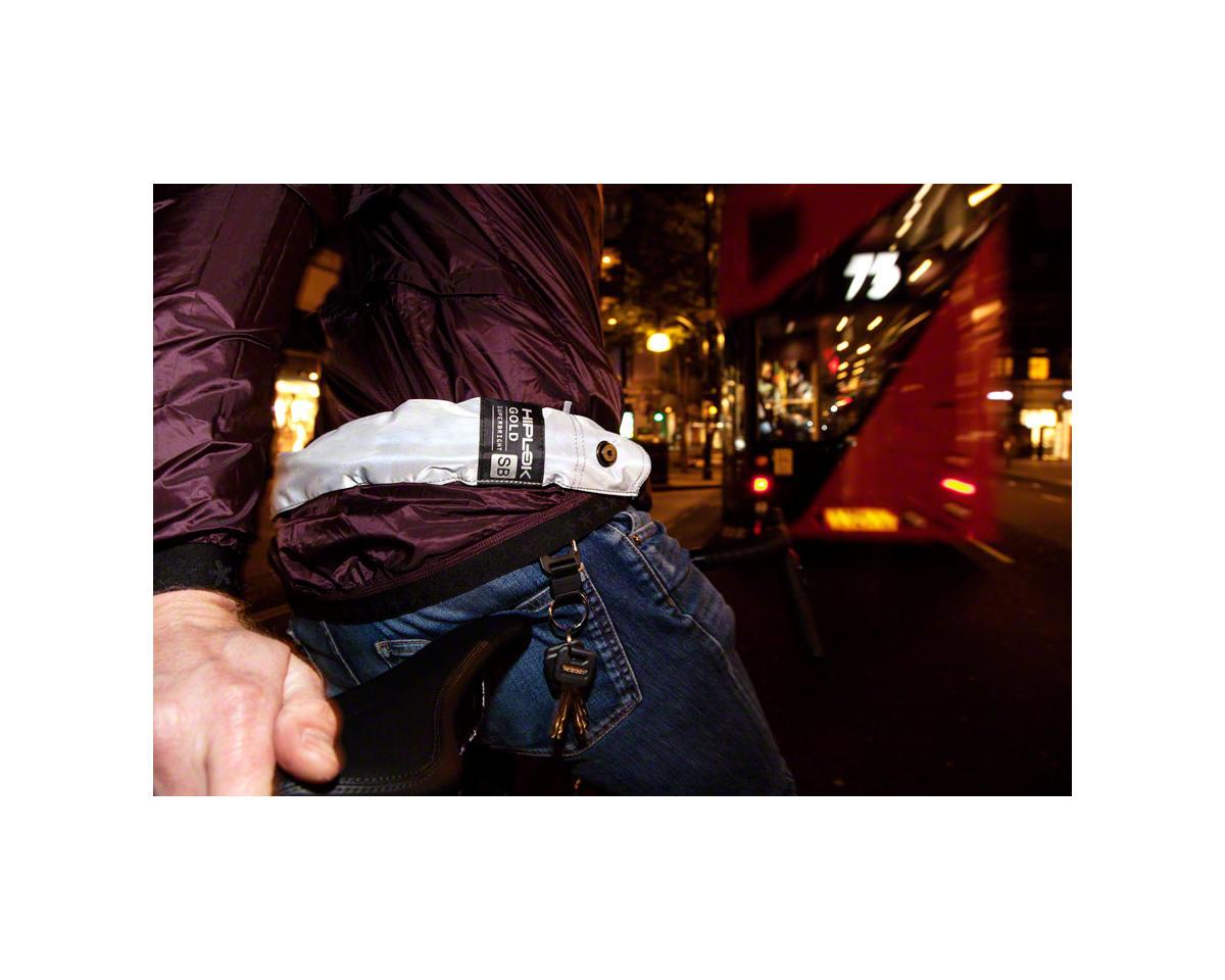 Hiplok GOLD Superbright Wearable Steel Chain Lock (White Reflect) (12mm)