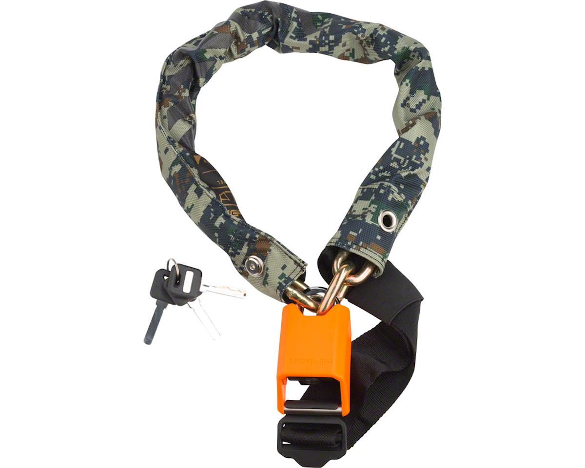 Hiplok Gold Wearable Chain Lock: Special Edition Camo