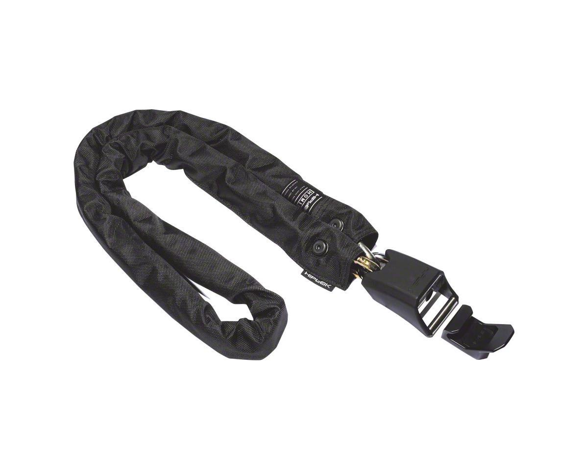 Hiplok HOMIE Hardened Steel Chain Lock: 10mm, Black