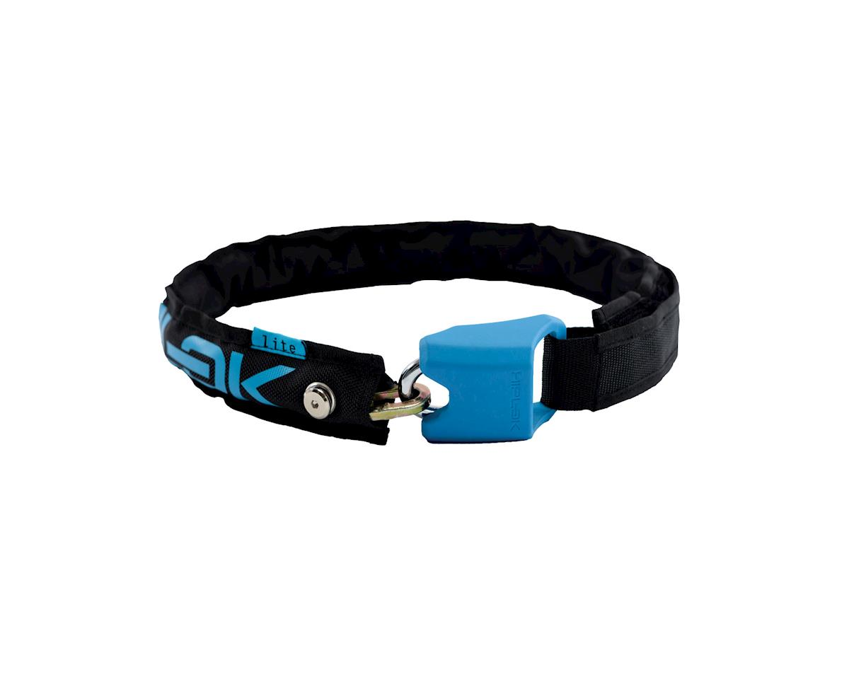Hiplok Lite Wearable Bike Lock (Black/Blue)