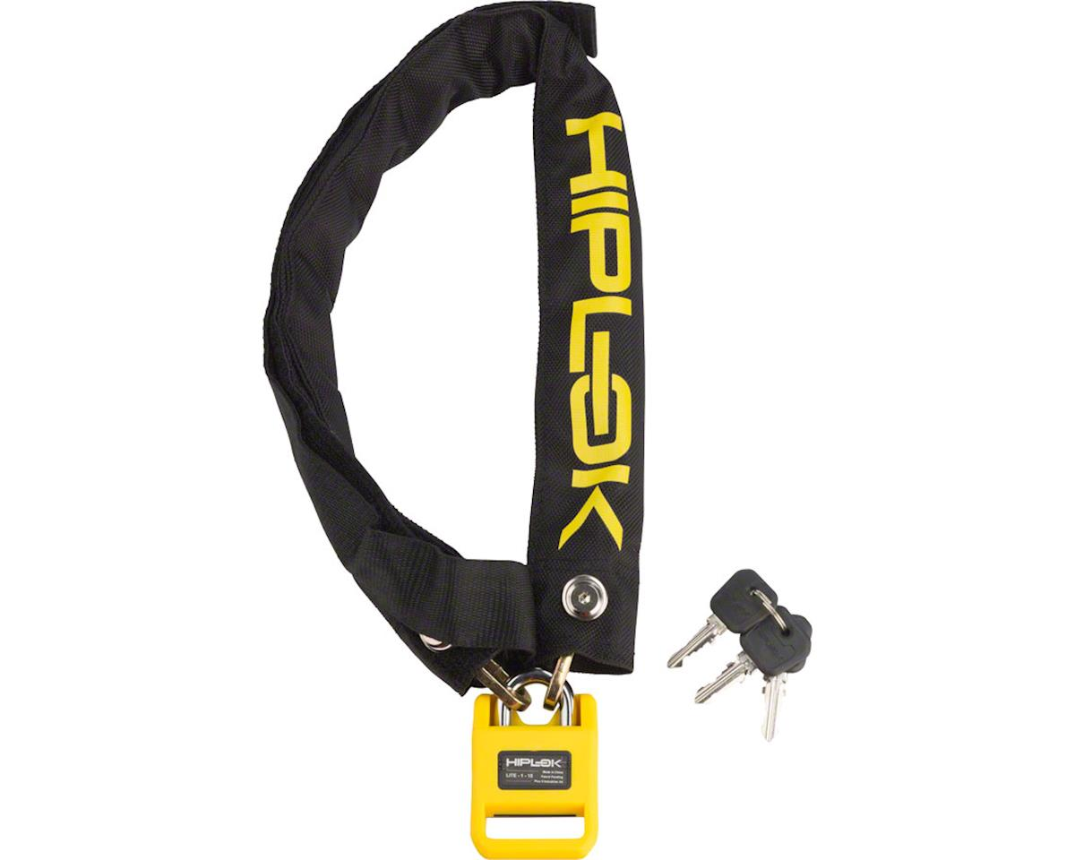 Hiplok Lite Wearable Hardened Steel Chain Lock (Black & Yellow) (8mm)