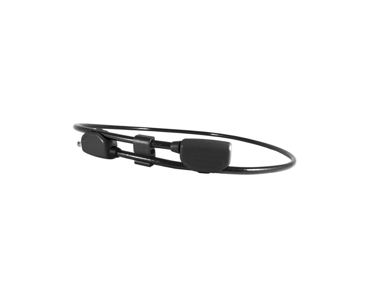 Hiplok POP Wearable Lock w/ Clip System (Black) (6mm)
