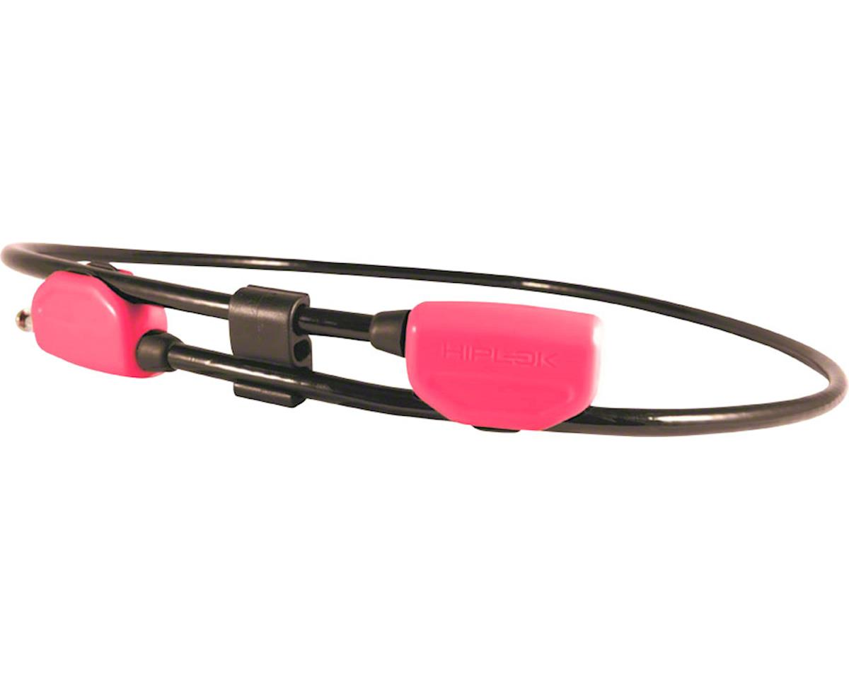 Hiplok POP Wearable Lock w/ Clip System (Pink) (6mm)