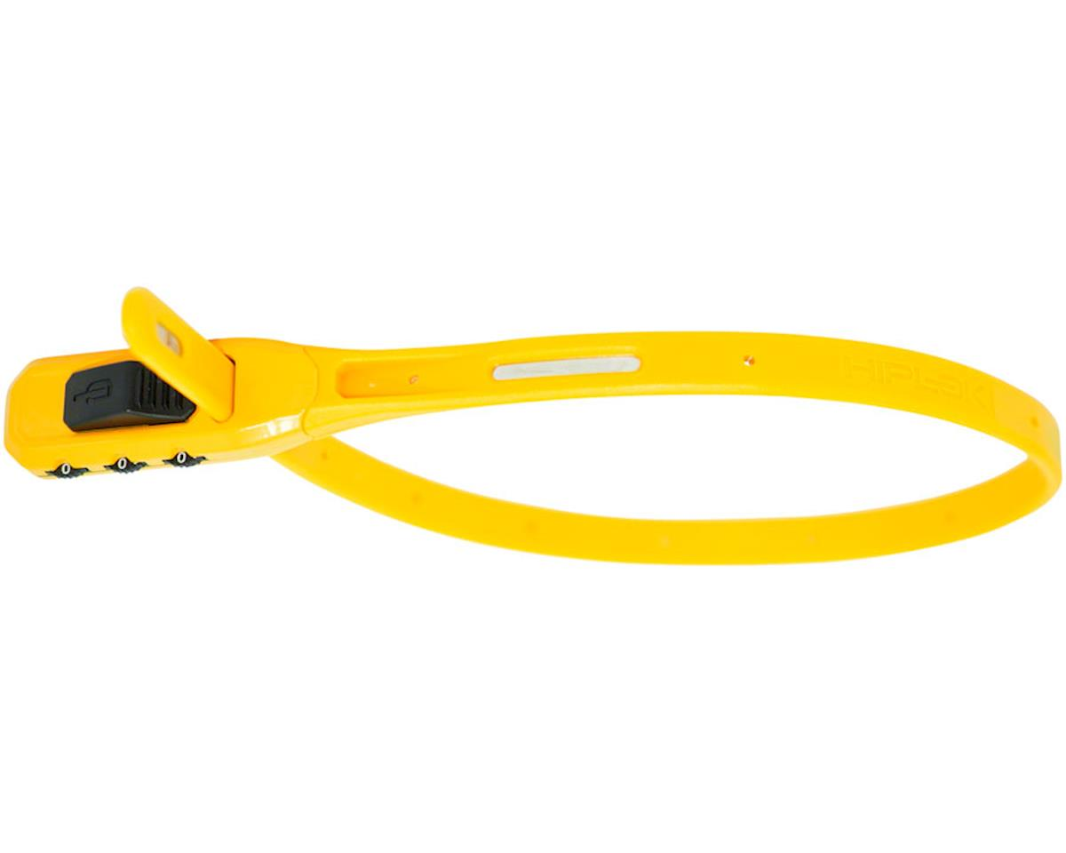 Hiplok Z-Lok Combo Security Tie Lock Single: Yellow
