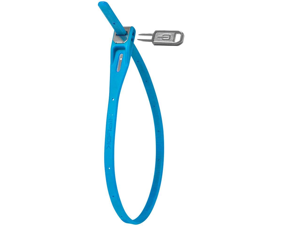 Hiplok Z-Lok Security Tie Lock Single (Cyan)