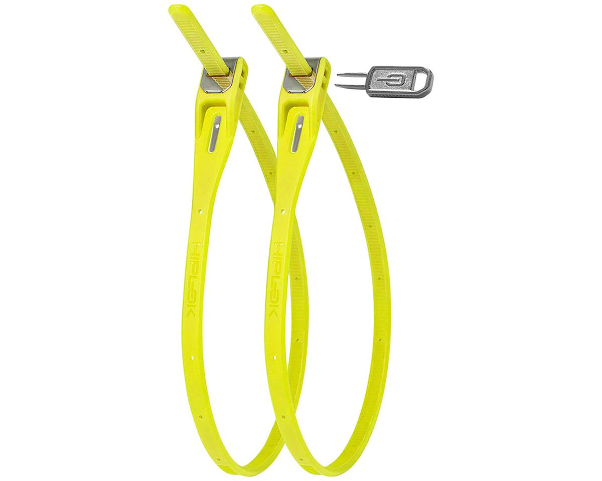 Hiplok Z-Lok Security Tie Lock Twin Pack (Lime)